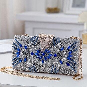 Luxury Diamond Embellished design Clutch 1