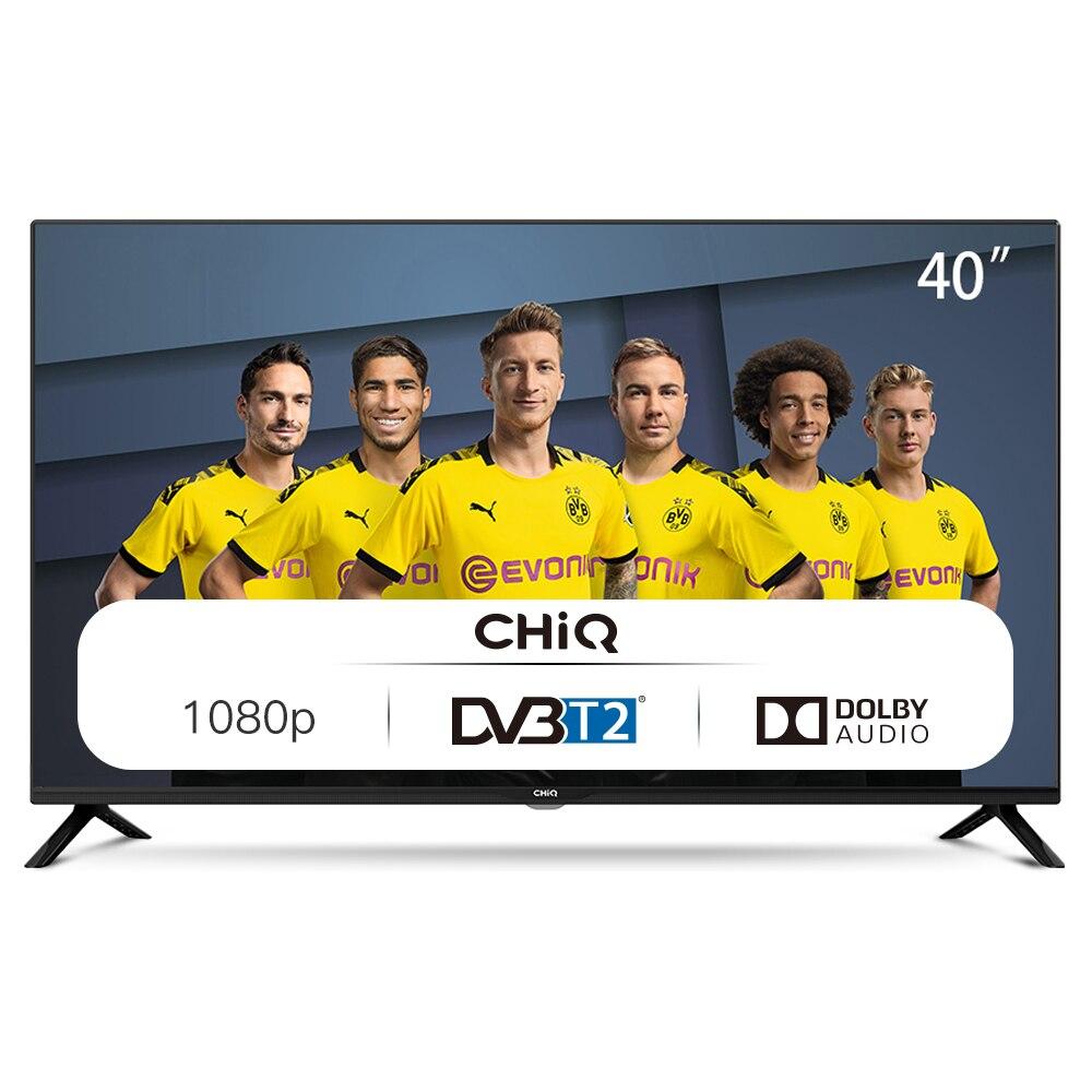 CHiQ L40G4500 Televisor 40 Pulgadas Full HD , 3 x HDMI, 2 x USB, Sintonizador Triple (DVBT / T2 / C / S2)