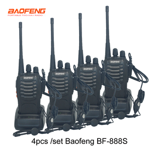 Image 1 - Baofeng Walkie Talkie BF888S BF 888s 5W, 16 canales, UHF, 400 470MHz, BF, 888S, 4 unidades