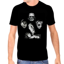Authentic UNIVERSAL MONSTERS Horror Band Bohemian Rhapsody T-Shirt S-2XL NEW