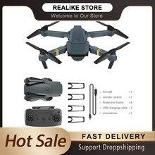 E58 drone, quadrotor dobrável, drone portátil, kit 720p/1080p/4k hd fotografia aérea, rc drone com função de rastreamento