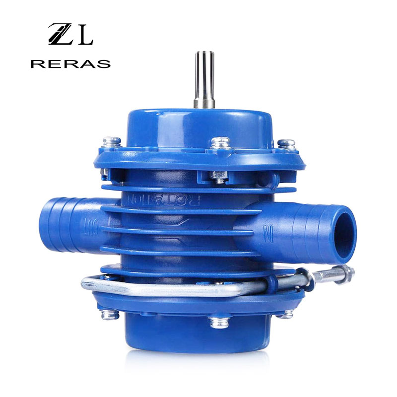 Hand Electric Drill Self Priming Water Pump DC Centrifugal Pump Household Small Submersibles Motor Home Garden DrainagePumps   -