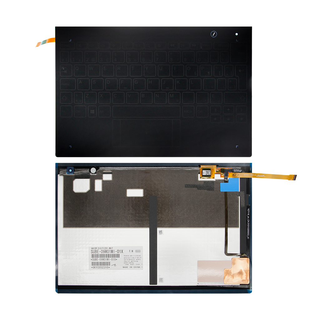 100% NEW English Keyboard For Lenovo Yoga Book YB1-X90L YB1-X90F YB1-X90 Keyboard Assembly