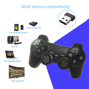 Image 4 - 2.4G Wireless Gamepad For PS3 / PC / Android / TV Box Game Controller Joystick For Phone Controller With Micro USB Or Type C