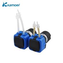 Kamoer KXF 6 V/12 V/24 V Mini peristaltik su pompası ile DC motor ve küçük boyutlu destek kendinden emişli