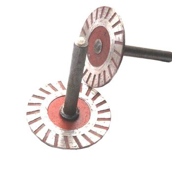 цена на 40mm Stone Carving Tools Circular Diamond Blades Cutting Disc for Grinders Saw Blade Marble Lettering Blade To Electric Tool