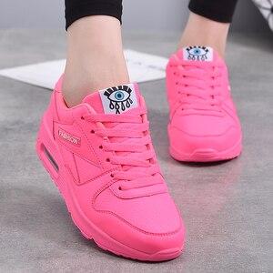Image 5 - MWY נשים נעליים יומיומיות ארבע עונות רשת אישה אופנה כרית אוויר דעיכת נעלי Zapatos mujer tenis feminino דירות סניקרס