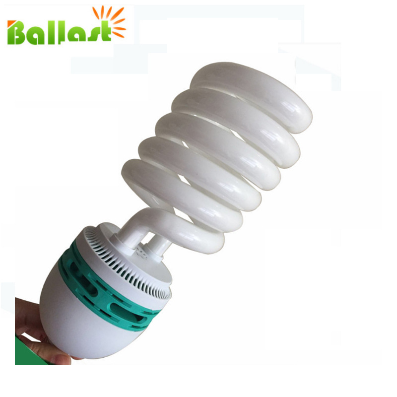 175W Photography Only Bulb Half Spiral Led Rgb Light Color Temperature 5500 K High-Power Photography Light Bulb