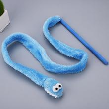 Креативная игрушка для кошек, синяя, розовая плюшевая веревка, товары для домашних животных, портативные игрушки, компактные зверушки в подарок