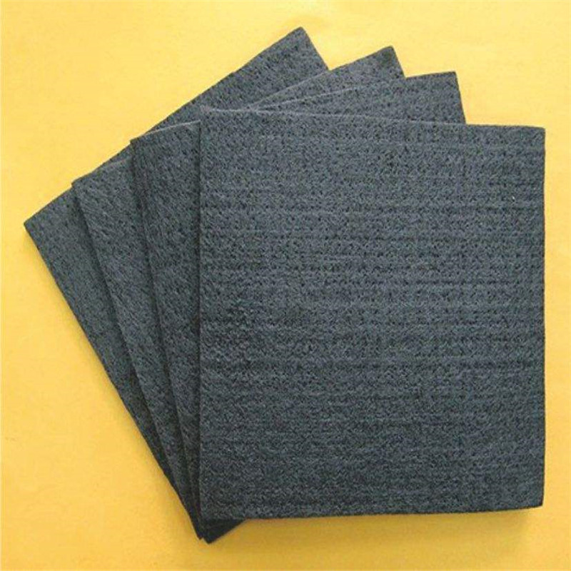 High Pure  Carbon Graphite Felt Graphite Fiber Felt  Used For Electrode ,  Battery