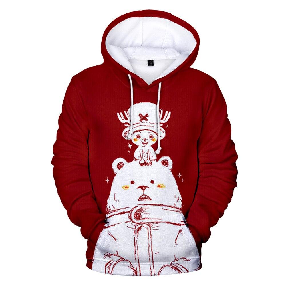 Tony Tony Chopper Hoodie Men Women Kid Sweatshirt Anime One Piece 3d Print Clothing