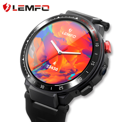 LEMFO LES4 Smart Uhr 4G 1,6 zoll Full Screen OS Android 7,1 1G 16G LTE 4G sim Kamera GPS WIFI Herz Rate Android Männer