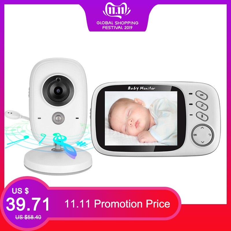 VB603 sans fil vidéo couleur bébé moniteur 3.2 pouces haute résolution Vision nocturne température surveillance bébé nounou caméra de sécurité