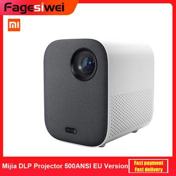 Xiaomi Mijia DLP Projector 500ANSI 1080P Full HD AI Voice Remote Control 2GB DDR3 8GB eMMC 2.4G / 5G WiFi 3D BT Home Theater