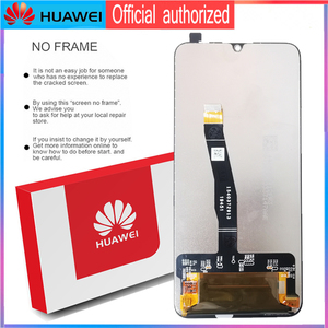 Image 4 - מקורי 6.21 10 מגע תצוגה עם מסגרת עבור Huawei P חכם 2019 LCD מסך מגע Digitizer עצרת POT LX1 l21 LX3