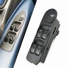 Mitsubishi carisma interruptor de janela, qualidade superior para mitsubishi switch de frente esquerda mr740599 para mitsubishi carisma 5 botões para mitsubishi space star