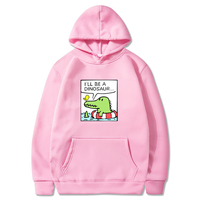 Harajuku Kawaii Monster Graphic Sweatshirt Hoodie Schoolgirl Funny Clothes Winter Plus Size Women Cotton Thick Hooded Sweatshirt