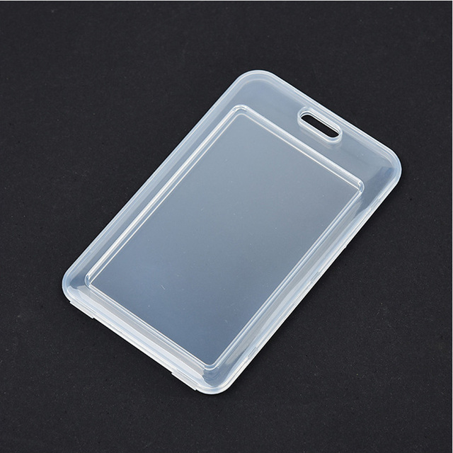 1pcs Waterproof Transparent Card Cover Women Men Student Bus Card Holder Case Business Credit Cards Bank ID Card Sleeve Protect 2