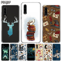 Harry Magician Silicone Back Case For Huawei P30 P20 Mate 30 20 10 Pro