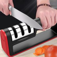 Knife Sharpener Professional Diamond Quick 3 Stages Sharpening Tools Stone Kitchen Accessories Hot Sale