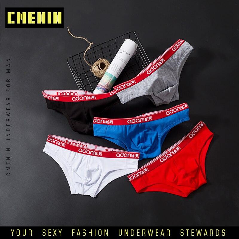 2020 New Sexy Underwear Men Briefs Slip Man Sexy Underwear Men Jockstrap Briefs Men Cotton Bikini Gay Men Underwear Male AD41