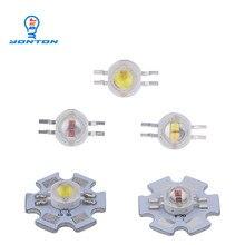 2*3 Вт двухцветный светодиодный желтый белый/желтый красный/УФ-белый/красный белый для DIY светодиодный светильник