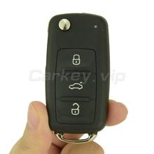 Flip car remote key for VW Volkswagen Beetle Golf Eos Polo Sharan 2011 2012 2013 3 button 5K0 837 202 AD ID48 434Mhz remotekey