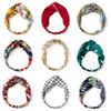 2021 New Design Fashion Women Summer Style Headbands Bohemian Girl Cross Turban Bandage Bandanas Hairbands Hair Accessories 2