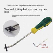 Professionele Keramische Tegel Kloof Boor Tegel Grout Remover Voor Vloer Muur Naad Cement Cleaning Tools Bouw Tool construction
