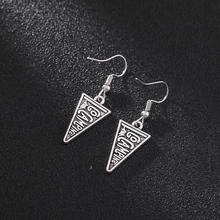 Sipuris Lettering Retro Dangle Earring 2020 Vintage Inverted Triangle Drop Earrings for Women Fashion Cool Jewelry Accessories цена 2017