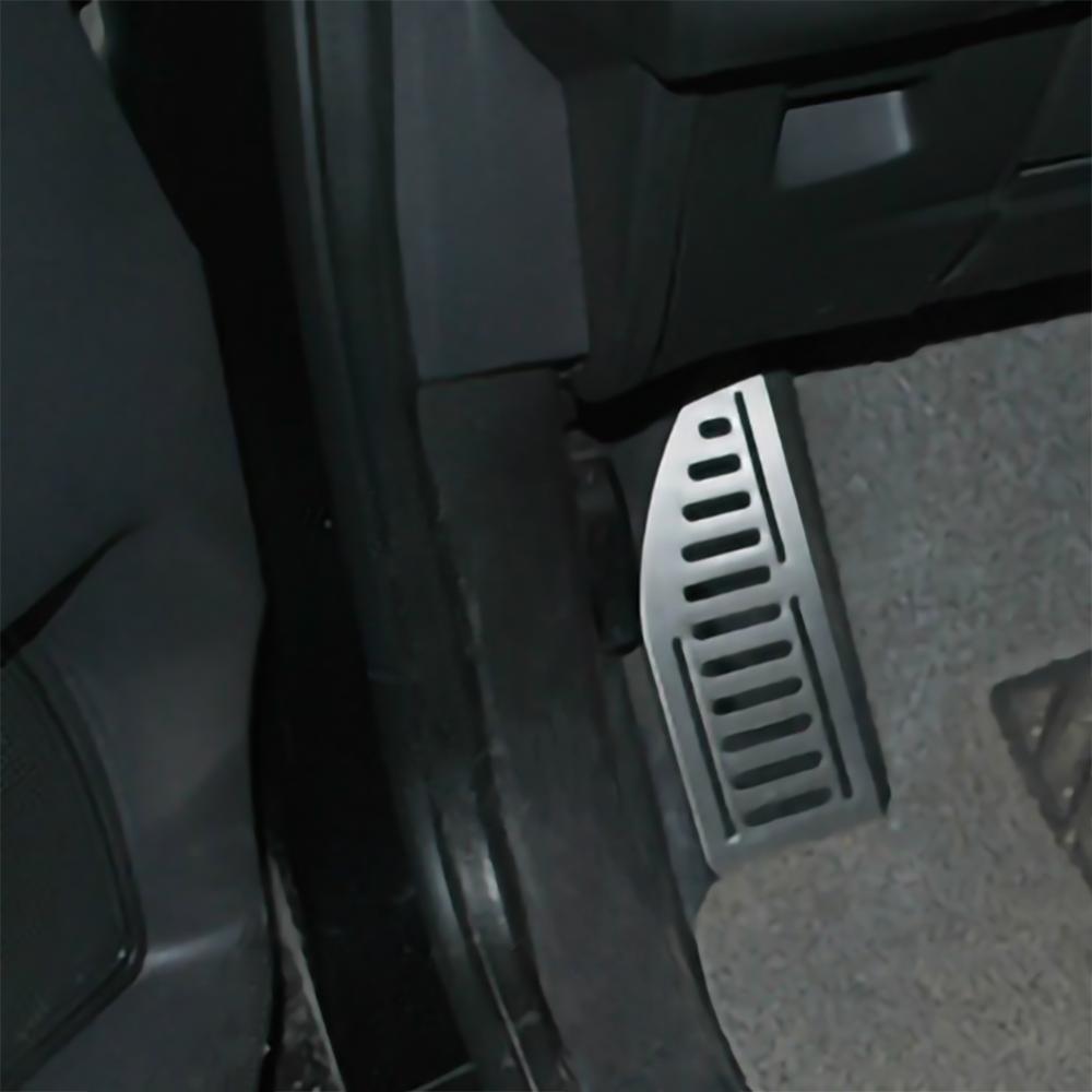 Pédale de voiture en acier inoxydable, couvre-pied, pour Ford Focus 2 MK2 Kuga Escape 3