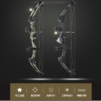 Junxing Archery 35-55 Lbs Compound Bow And Arrow Set, 310FPS, 70% Labor Saving Rate, Shooting Hunting Accessories 6