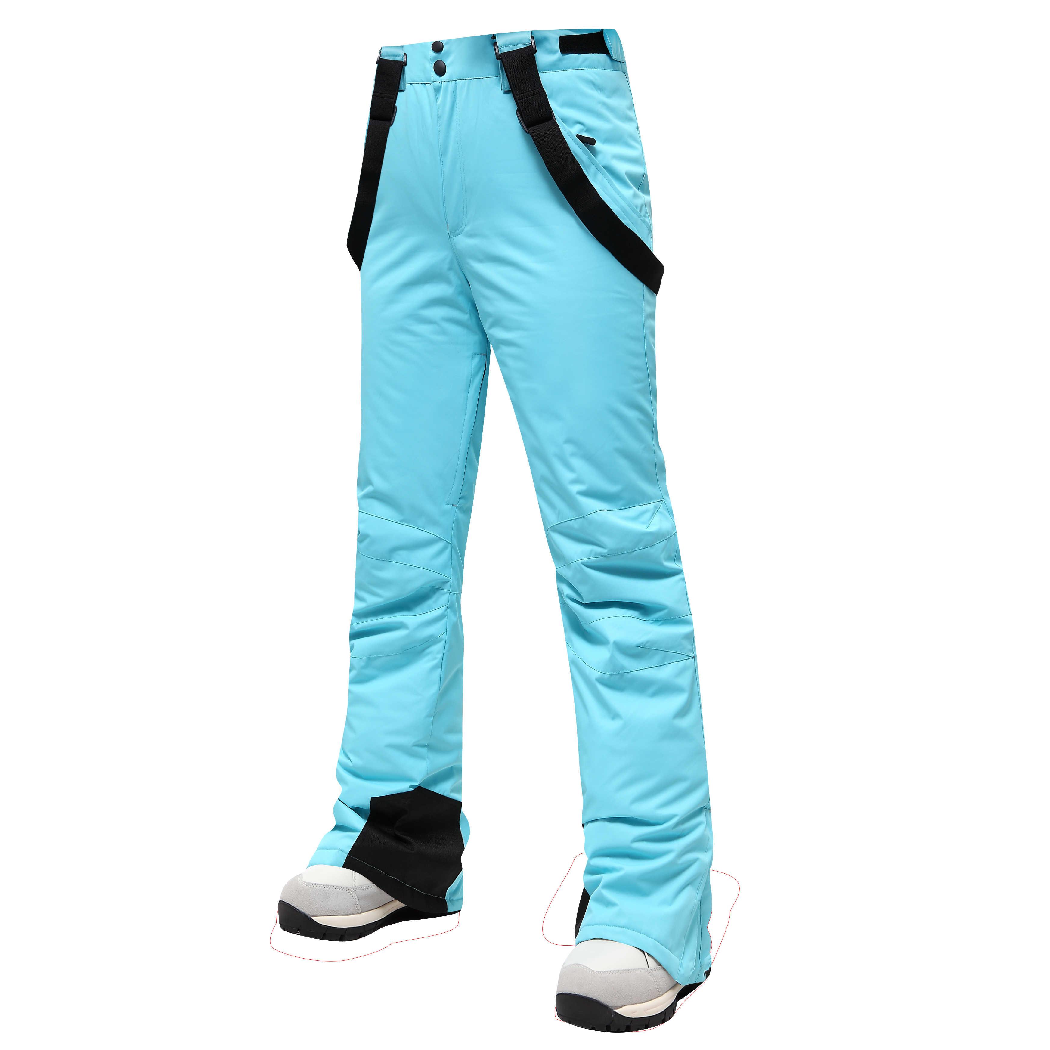 Новинка 2020, зимние лыжные штаны для женщин, для улицы, высокое качество, ветрозащитные, водонепроницаемые, теплые зимние брюки, зимние лыжные штаны для сноубординга, брендовые