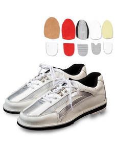 Bowling Shoes Right Breathable Sneakers Reflective-Shoes Outsole Anti-Skid Left-Hand