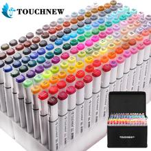 Markers-Pen-Set Brush Pens Sketch-Marker Alcohol Drawing-Art Touchnew Dual-Head Animation