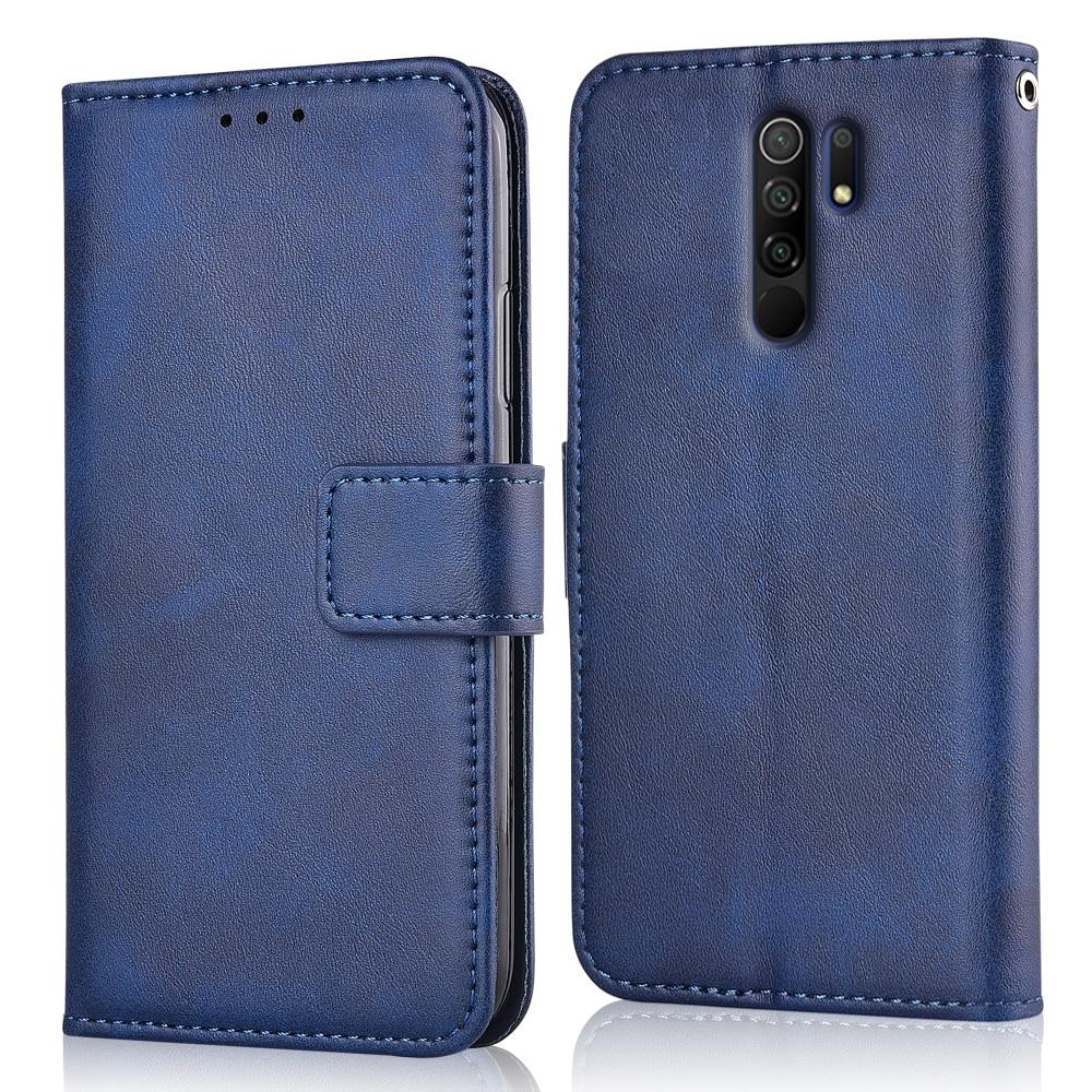 For Xiaomi Redmi 9 M2004J19G M2004J19C 6.53'' Back Cover For Redmi 9 Coque Flip Wallet Leather Case Redmi9 Case Phone Bag