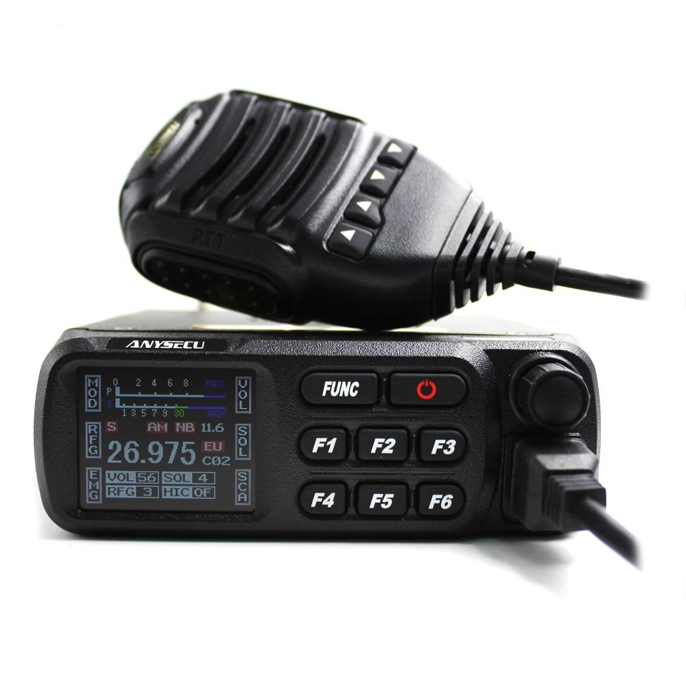 A-CB-27 CB Radio 26.965-27.405 Mhz AM/FM 12/24 V 4 Watt LCD Schermo Shortware Citizen Band Multi-Le Norme CB Mobile Radio CB27