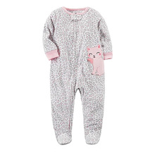 2019 winter Lovely Cute cartoon Baby  Boys Girls Romper Hot Sale one piece rompers Fleece