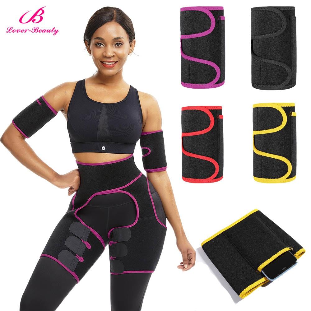 Lover Beauty Fat Burning Butt Lifter Powerful Slimming Arm Shaper Leg Shaper Waist Booty Trainer Weight Loss Slimming Belt
