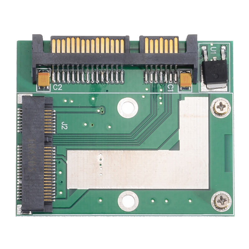 1pc <font><b>Mini</b></font> PCI-E MSATA SSD To 2.5Inch SATA 6.0 <font><b>Gps</b></font> Adapter Converter Card Module Board Support For mSATA <font><b>Mini</b></font> <font><b>PCIE</b></font> SSD image