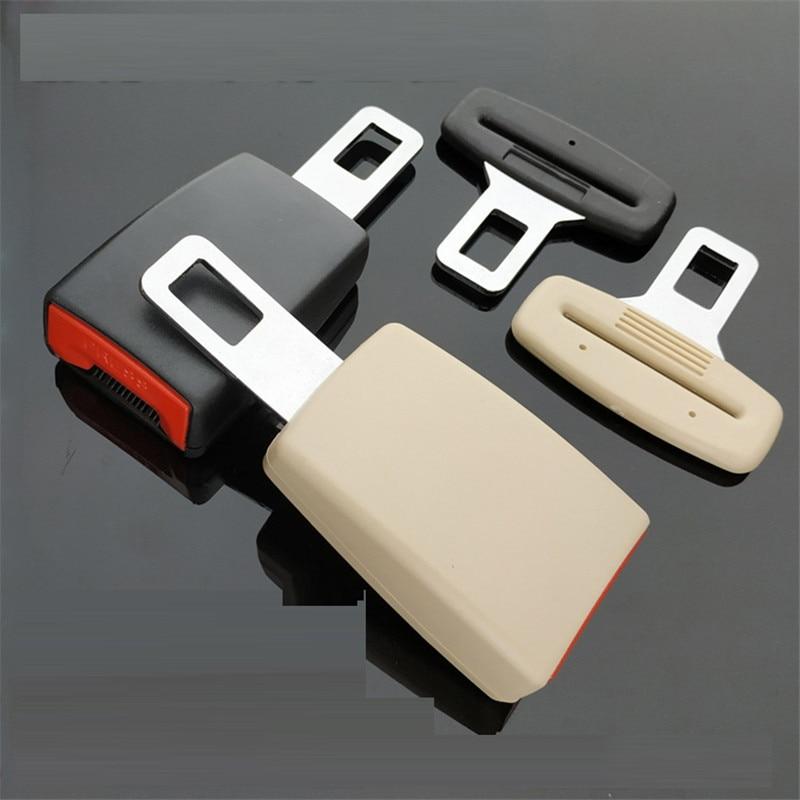 2x Universal Zinc Alloy Car Auto Safety Seat Belt Plug Clip Interior for Jaguar
