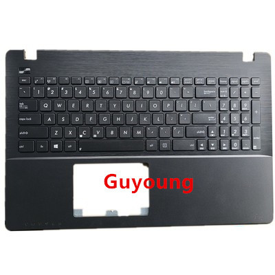 New For <font><b>Asus</b></font> <font><b>X550</b></font> <font><b>asus</b></font> X550C A550V Y581C C case with <font><b>keyboard</b></font> black US image