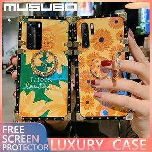 MUSUBO роскошный 3D чехол A51 A20 s A91 чехол для Samsung S20 ультра S10 S8 плюс A10 M30 A40 A70 M30S A50 A71 A81 квадратный чехол для телефона