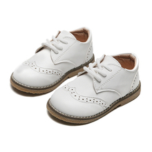 2020 Spring Autumn Children Casual Leather Shoes Kids School