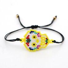 Go2boho Mexican Women Skull Pulseras Mujer Moda 2019 MIYUKI BTS Accesorios Fashion Bracelets Women Jewelry Chic Dropshipping