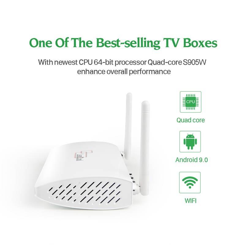 cheapest Tanix TX6S Smart TV Box Android 10 4GB RAM 32GB 64GB Allwinner H616 Quad Core Android 10 0 TV Box H 265 4K Media player 2GB 8GB