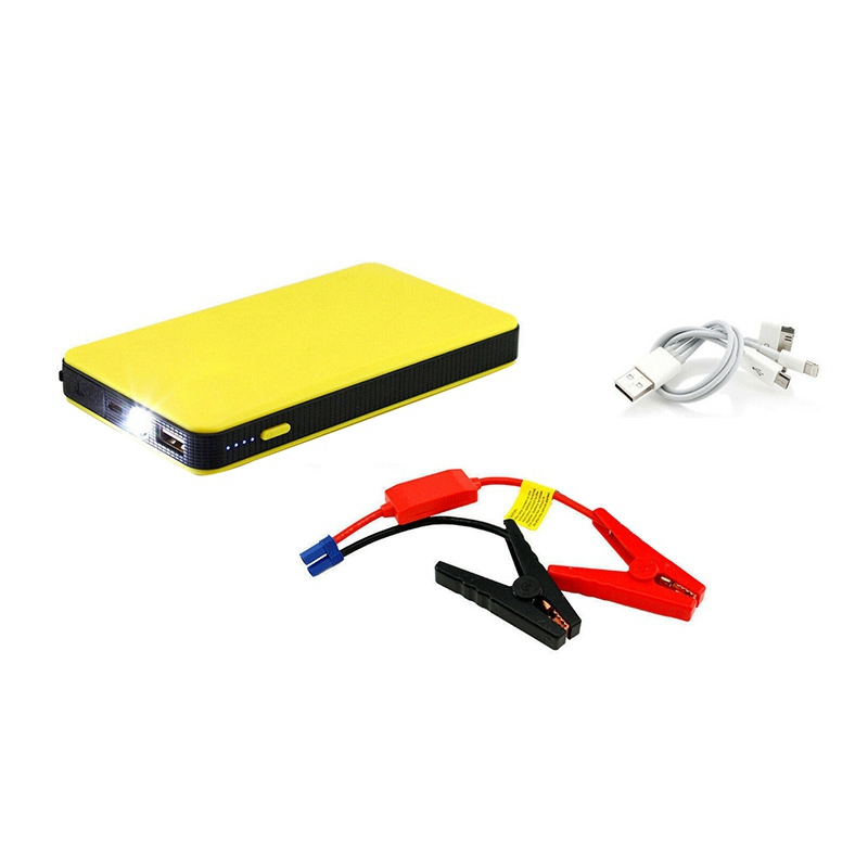 12V Multi-Function Car Jump Starter Battery Charger Power Bank Booster