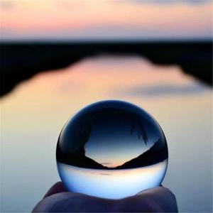 Image 5 - 60 Mm 80 Mm Fotografie Crystal Lens Bal Aziatische Quartz Clear Magic Glas Bal W/Draagbare Tas Voor Foto schieten