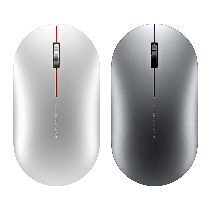 Image 3 - Newest Xiaomi Bluetooth mouse Mi fashion Wireless Mouse Game Mouses 1000dpi 2.4GHz WiFi link Optical Mouse Metal Portable MouseMice   - AliExpress