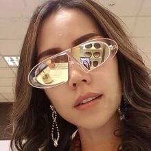 WS22 Винтаж овальный солнцезащитные очки женщин роскошный дизайн солнцезащитные очки мужчины классические очки UV400 мода очки lentes-де-Сол хомбре/Мухер